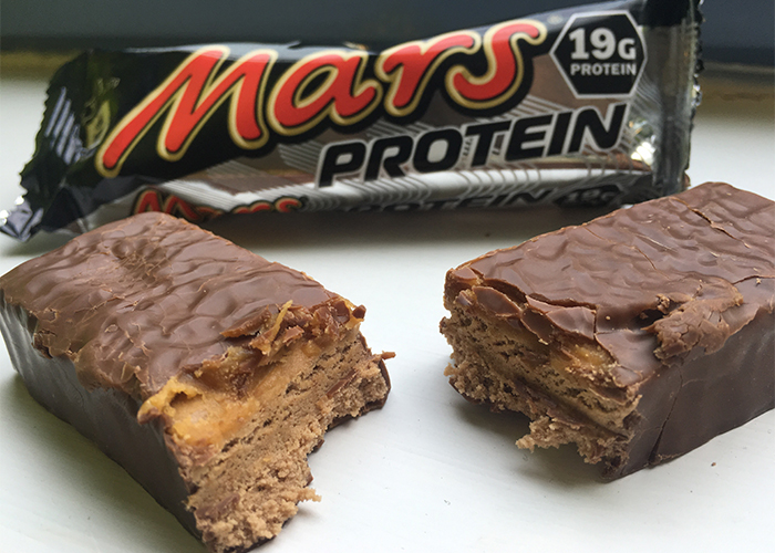 Protein bars Mars & Snickers