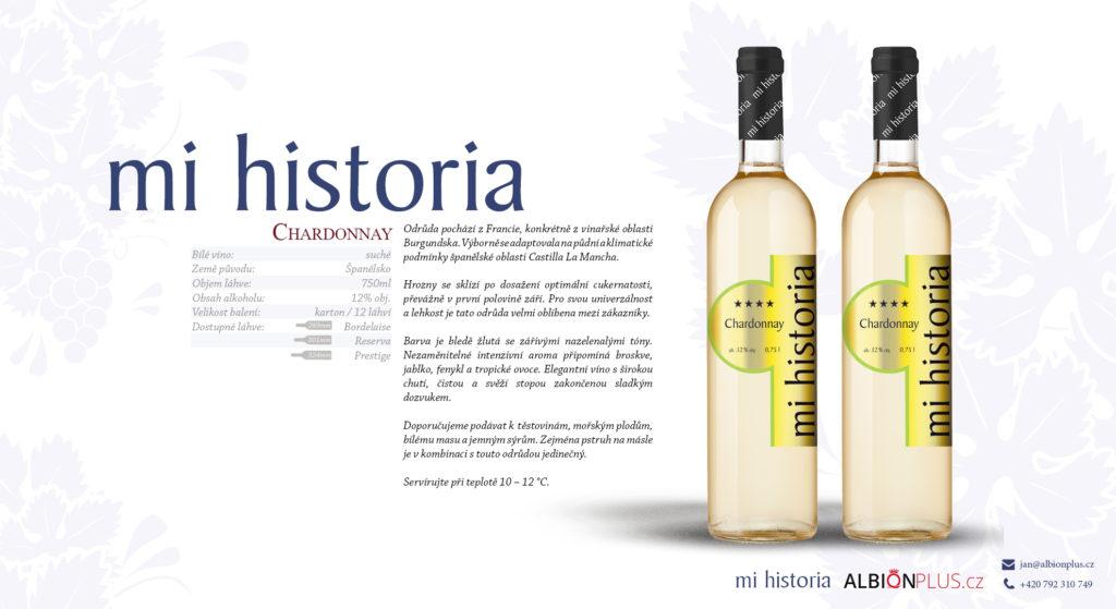 Mi Historia Chardonnay