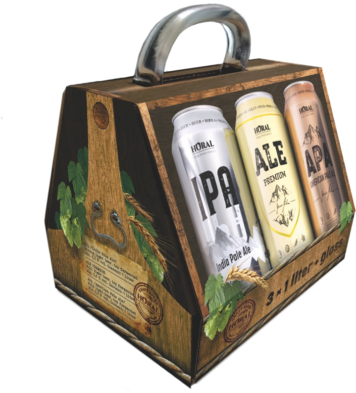 Special Gift box – HORAL IPA, ALE, APA