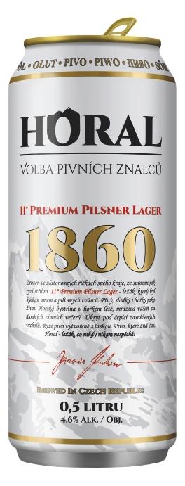 """Horal"" Premium Pilsner Lager – 500 ml"