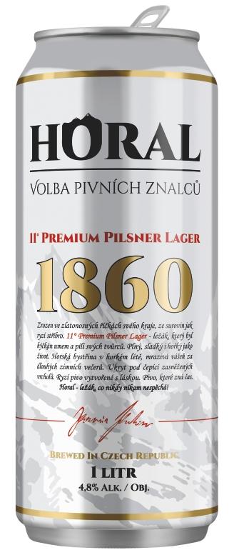 """Horal"" Premium Pilsner Lager – 1000 ml"